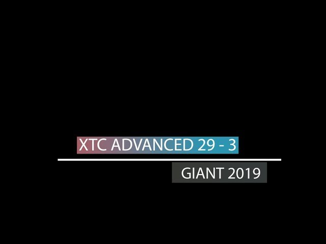 Видео Велосипед Giant XTC Advanced 29 3 Neon Red