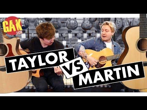Martin Vs Taylor | Acoustics