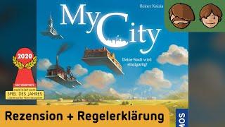 My City - Brettspiel - Review und Regelerklärung mit Captain Raspberry