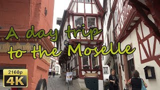 A day trip to the Moselle - Germany 4K Travel Channel