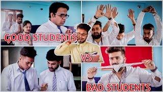 Good Students VS. Bad Students In A Classroom - School Life | ROB's