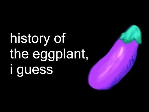 history of the eggplant, i guess (bill wurtz parody)
