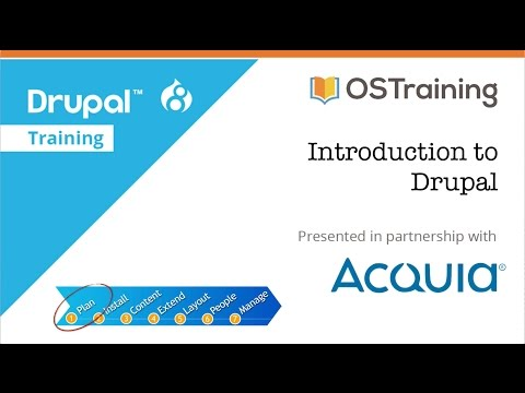 Drupal 8 Beginner, Lesson 1: Introduction to the Course - YouTube