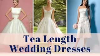 Tea Length Wedding Dresses - 100+ Tea Length Bridal Gowns Ideas
