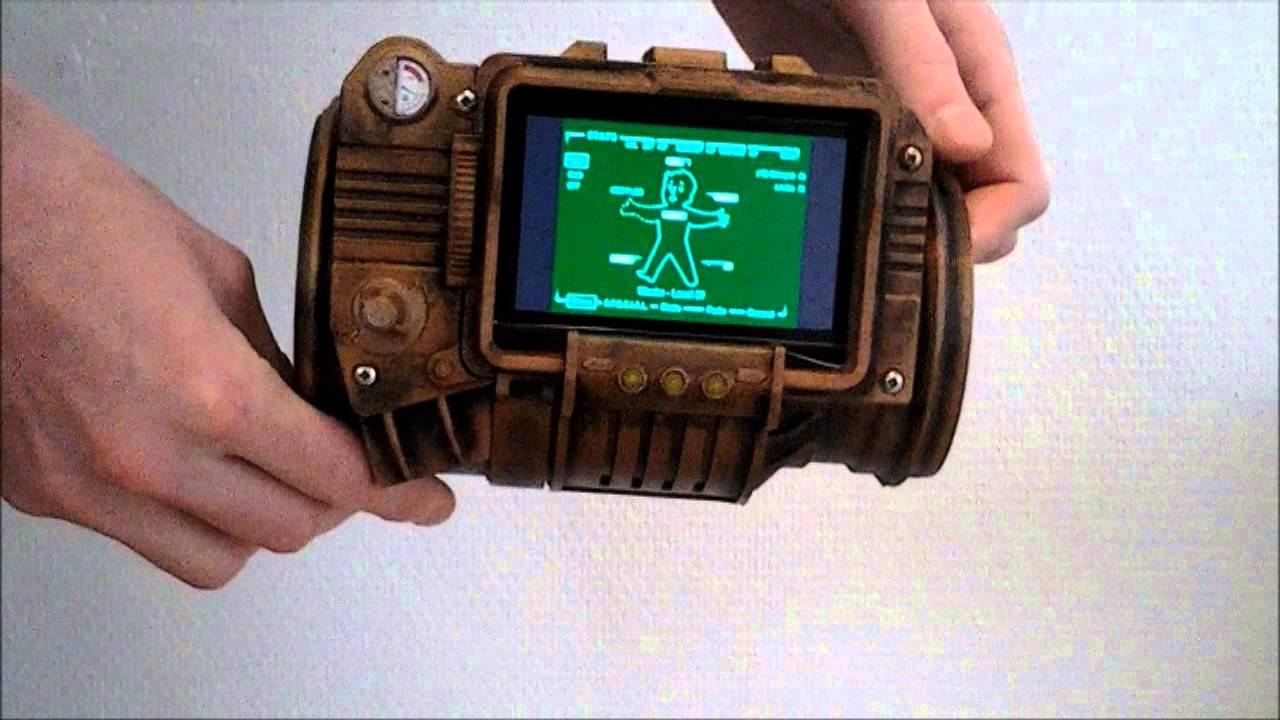 This 3D Printed Pip-Boy 3000 Makes Up For All Those Scary Guns People Make