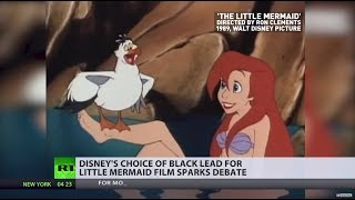 Cultural appropriation? Little Mermaid live-action  to star black actress as Ariel