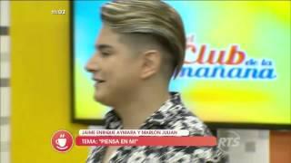 Jaime Enrique Aymara y Marlon Julián son los artistas invitados