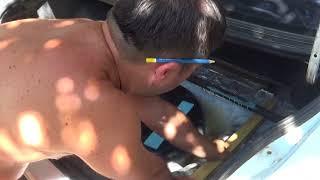 Ровняем пол в багажном отделении МАКСА