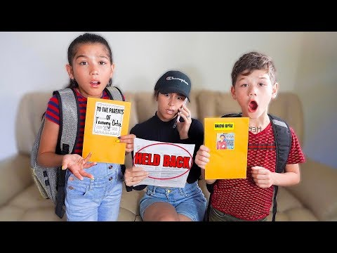 Txunamy & Diezel FAILED This School Year!! 💔 | Familia Diamond