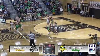 Rochester Girls Basketball vs Tippecanoe Valley