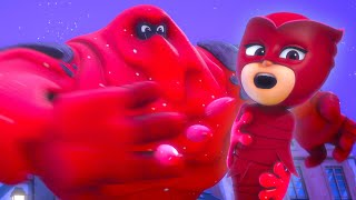 Trapped by the Splat Monster? | PJ Masks Official