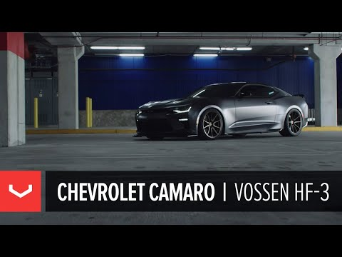 Chevrolet Camaro | Vossen Hybrid Forged HF-3 Wheels