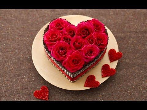 подарок на 14 февраля своими руками  (сердце) часть 1