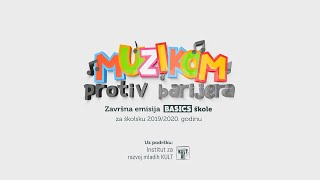 MUZIKOM PROTIV BARIJERA, TV emisija Basics škole