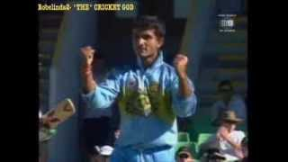 Sourav Ganguly bowling, best 20 wickets- amazing DADA celebrations!