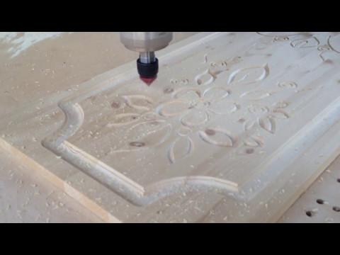 Станок для фрезеровки фасадов со сменой инструмента