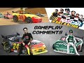 Nascar Kart Racing Gameplay amp Comments Wii Hd