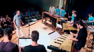 Aram KHACHATURIAN Danza del Sable.- Ensemble Alumnado PercuFest 2016 dirigido por Josep Furió