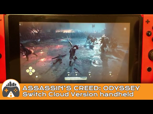 Watch Assassin S Creed Odyssey Running On A Nintendo Switch Not