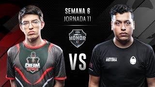 CREAM ESPORTS VS x6tence | Jornada 11 | División de Honor 2019 - Clausura