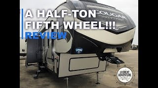 A fifth-wheel for a half-ton truck!!! Check this out!