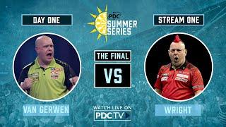 Van Gerwen V Wright | Final | PDC Summer Series Day One
