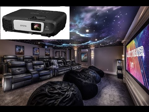 Epson Home Theater Projector EX9210 Unboxing and Review