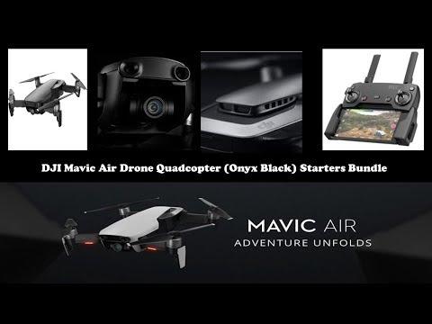 DJI Mavic Air Quadcopter with Remote Controller - Onyx Black 2019