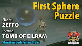 Video Zeffo Tomb of Eilram - First Sphere Puzzle Walkthrough