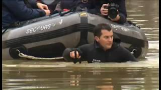 Paris and France Flooding - Package - BBC News Channel/World