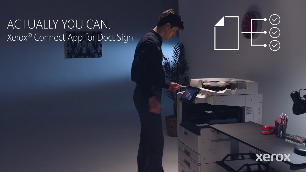 Xerox® Connect App for DocuSign YouTube Video