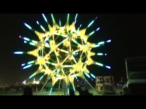 Hyperlapse of Burning Man 2018