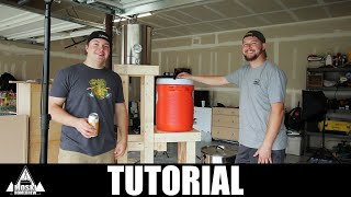 Building A Brew Stand - Tutorial