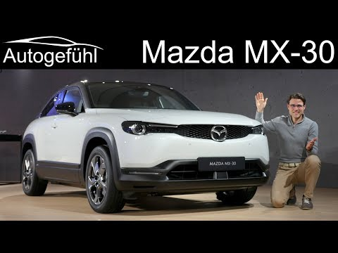 Mazda MX-30 REVIEW with driving the EV Prototype - Autogefühl