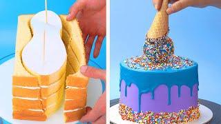 Top 15 Beautiful Cake Decorating Tutorials | Most Satisfying Chocolate Cake Decorating Ideas