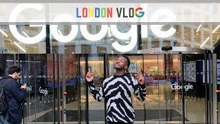 Inside Google's London HQ (Office Tour) - EB Vlogs #5