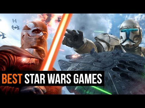 The 10 Best Star Wars Games ever