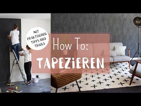 Tapezieren für Anfänger - Vliestapeten richtig anbringen | dhal.de