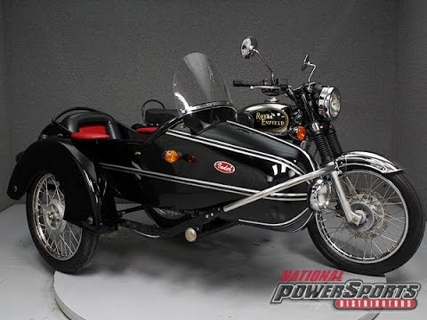 2012 ROYAL ENFIELD BULLET G5 DELUXE W/SIDECAR – National Powersports Distributors