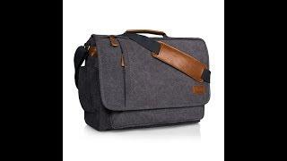 Estarer Mens 15.6 Inch Laptop Messenger Bag