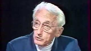 Jacques-Yves Cousteau avec Anne Sinclair à 7 sur 7.