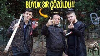 TYSON'IN KAZDIĞI MEZARLARI ALTIN DEDEKTÖRÜ İLE ARADIK!!