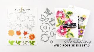 Altenew Dies Intro - Wild Rose 3D Die Set