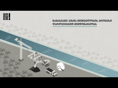 Violations related to Namakhvani HPP construction