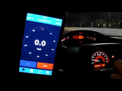 Honda Civic SI 0 a 100 Km/h en 3,8s