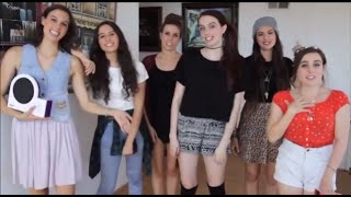 "Cimorelli Dancing To Their Original Song ""Come Over"" With Hasbro's ""Twister Dance"" Game"
