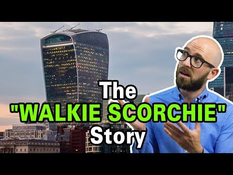 "Melting Cars: The ""Walkie Scorchie"" Building"