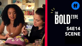 The Bold Type | Season 4 episode 14 | Extrait 1 : Jane Paints Her Boobs (VO)