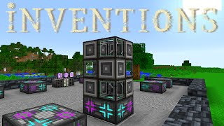 Minecraft Mods FTB Inventions - CRYSTAL GROWTH AUTOMATION [E17]