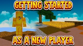how to get started in skyblock - Free video search site